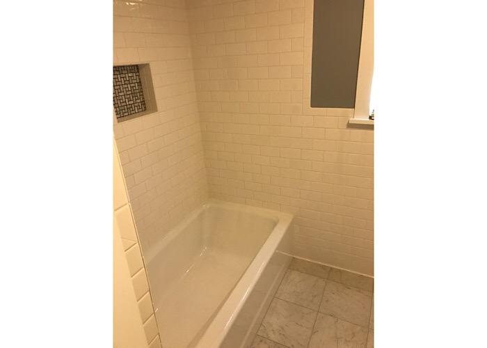 Bathroom tile remodels